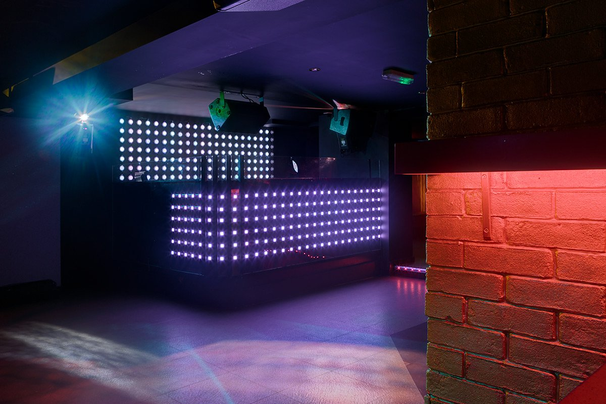Arcadia nightclub interior design