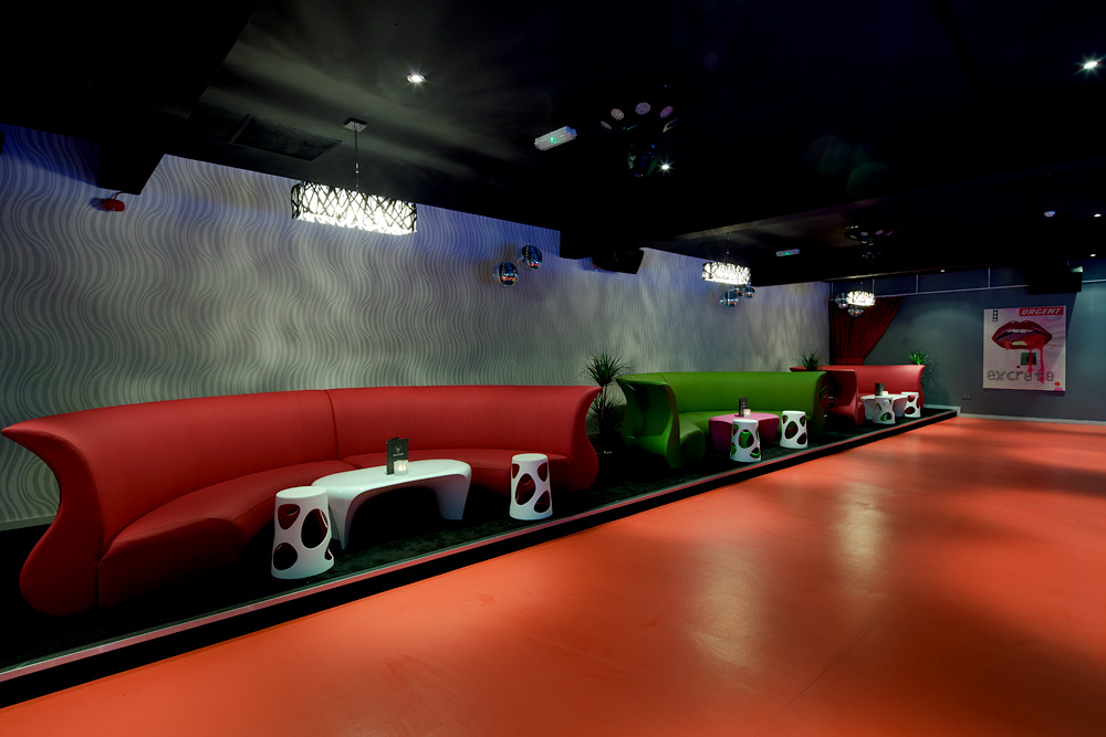 Volition Bar & Club designed by top bar & club Interior designers in London Image