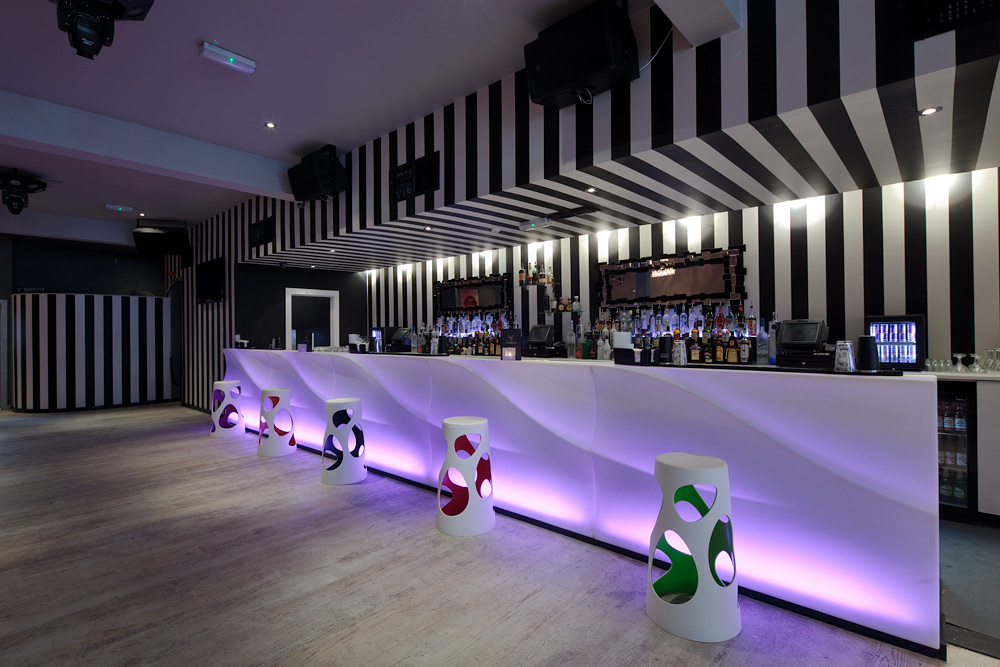 Volition is a brand new modern bar & club that Astounding designed for ...