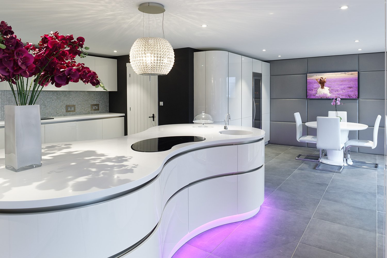 Designer Curved Kitchen Part 98