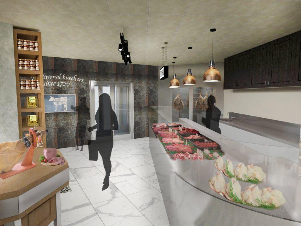 butcher counter screen view