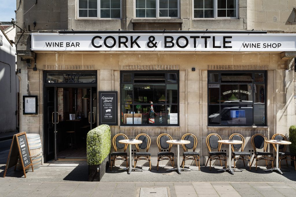Cork and Bottle Paddington London Image