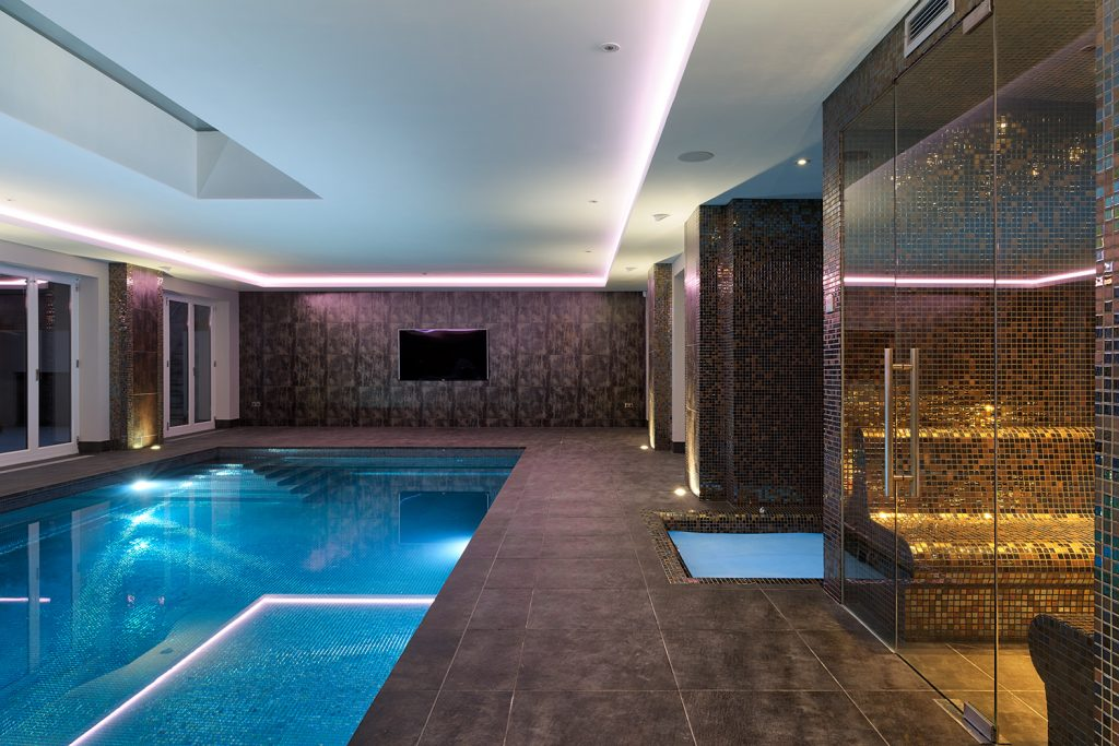 Swimming Pool & Wine Cellar Image