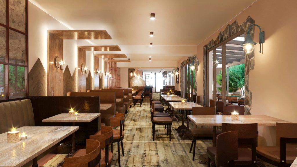 Italian Restaurant, London Image